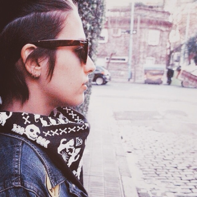 #scarf #bandana #pañuelo #pixel #skull