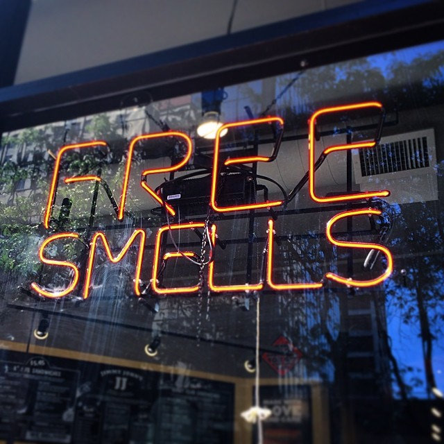 Thanks for the Free Smells Portland. #portland #pdx #pacificnorthwest #geraldwallace #smellyalater