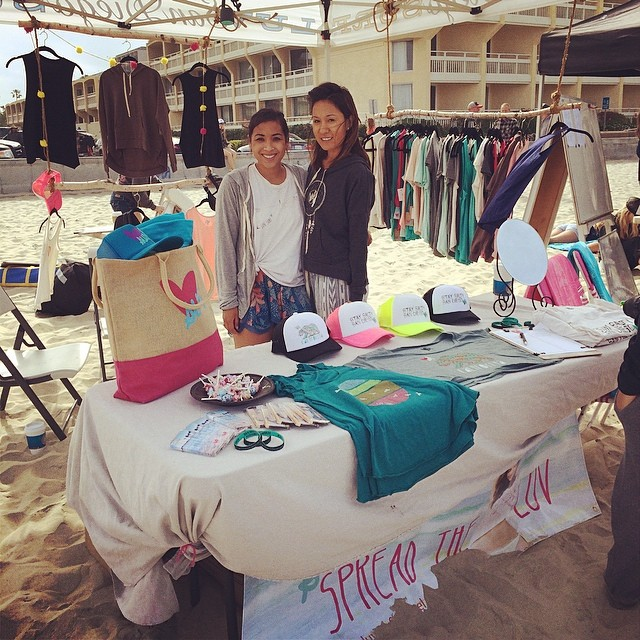 Come visit the Luv Surf Booth at the Pi Phi Surf Classic in PB! #piphi #piphisurfclassic #luvsurfapparel #spreadtheluv