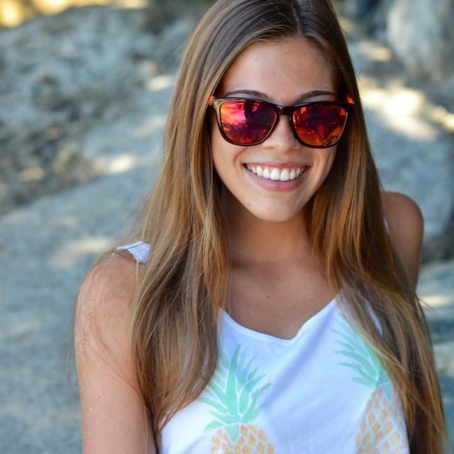 Who's smokin' hot now?! @lexmontoya wears Lava - Get yours at www.kameleonz.com/shop/lava/  #Kameleonz #lifesabeach #surf #sunglasses