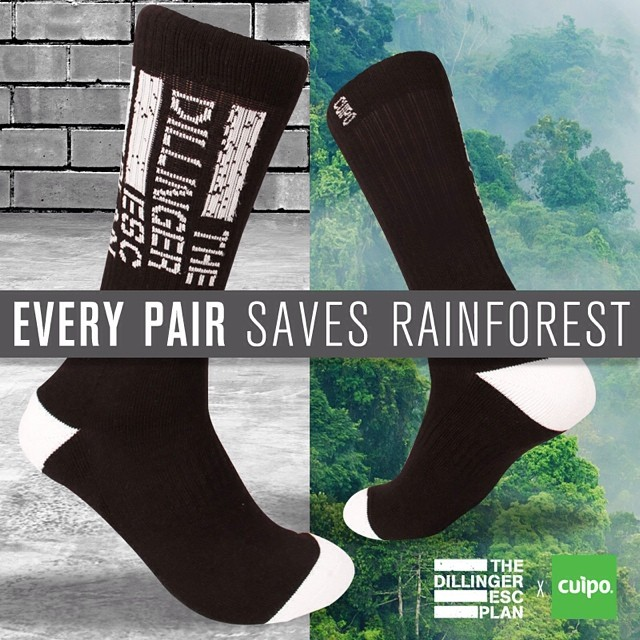 Grab the dillinger escape plan socks before they disappear!!! Cuipo.org/dillingerescapeplan