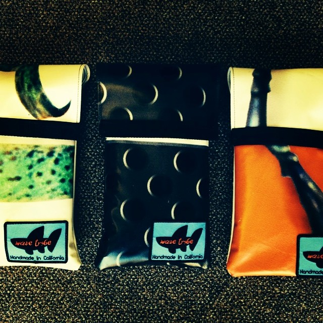 Wave Tribe wetsuit changing mats with custom carry bags. Check them out on the site.
