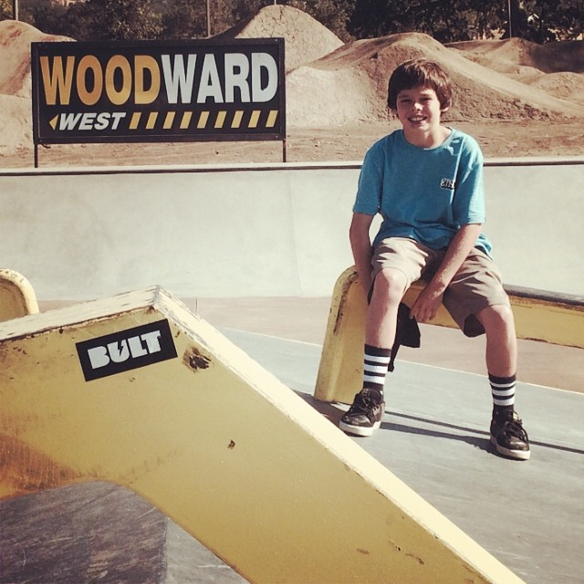 #BULTteam rider Jack @burnwin is @woodwardwest this week! If you are there, say what's up and ask him about his X3 video helmet! #bulthelmets #bult #woodwardwest You will probably find Jack on the vert ramp in the hanger!!!