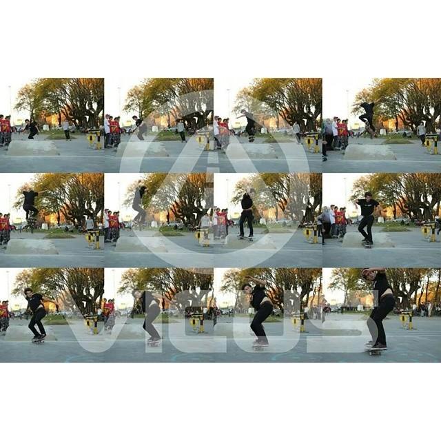 #SkateVicus juanto a @nseymand en la demo del torneo pasado haciendo un BS-360! #skate #skateboarding #argentina @vicusba