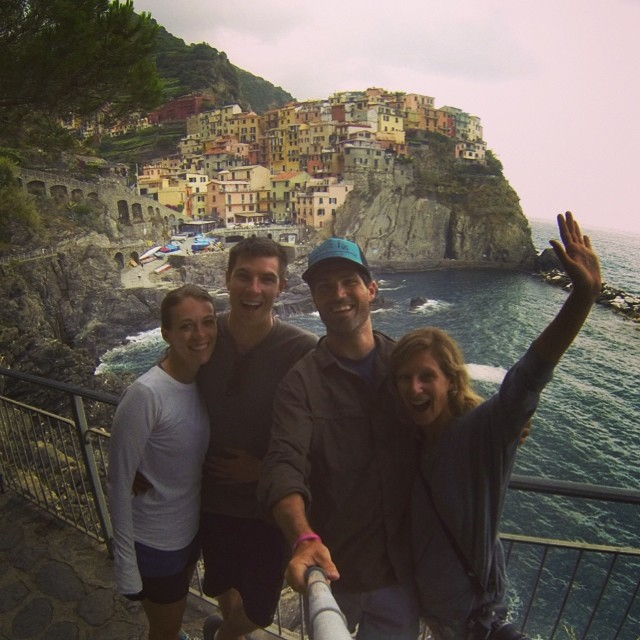 hiking new places with old friends. #tbt #lastweek #cinqueterra