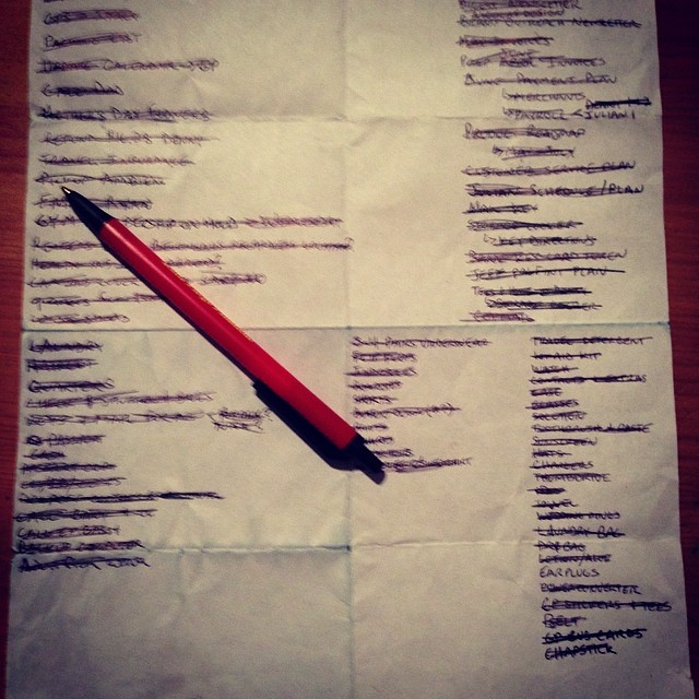 Shit just got real. Checklist complete bring on the summer wedding roadtrip #bali #tuscany #ontheroad #travel #exploremore