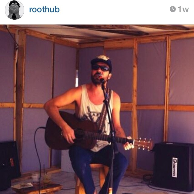 @roothub rocking out in an #organik #nautical #tank perfect for his show in #nantucket. Our tanks are made from #organiccotton #madeinusa. See our friend #roothub perform at #artafterdark this Friday 6-9 at @honolulumuseum #hawaii