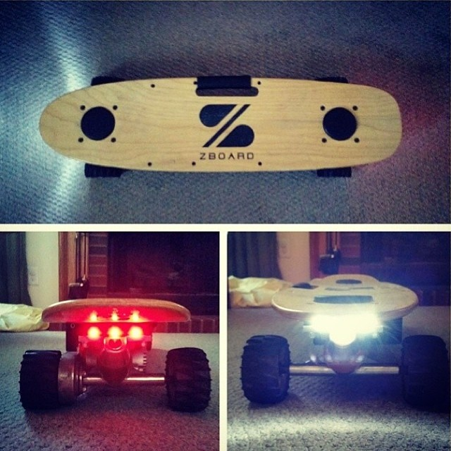 Summer Nights = ZBoard Lights  Pick up a set for your Z at zboardshop.com/lights  Regram from @rivuur