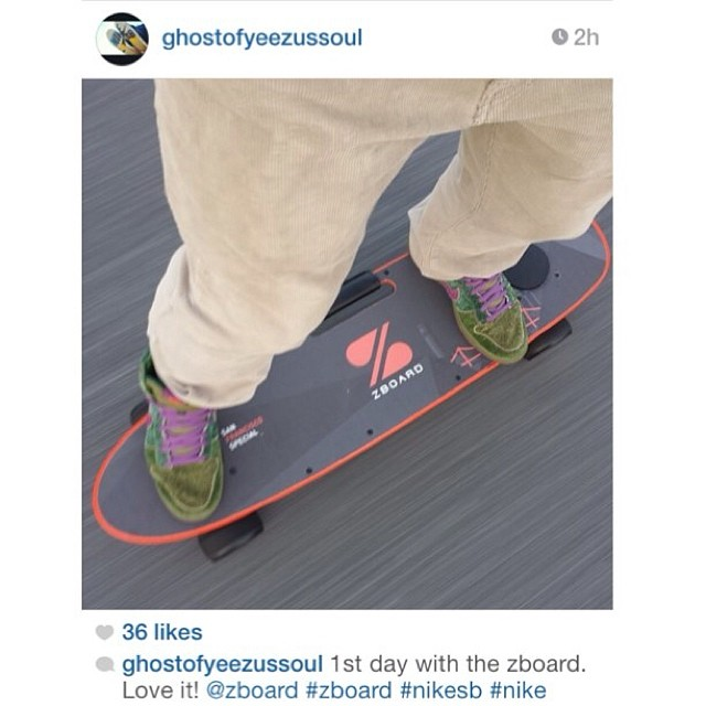 Nice shoes. Nice board. Nice pic. Nice comments.  Regram from @ghostofyeezussoul