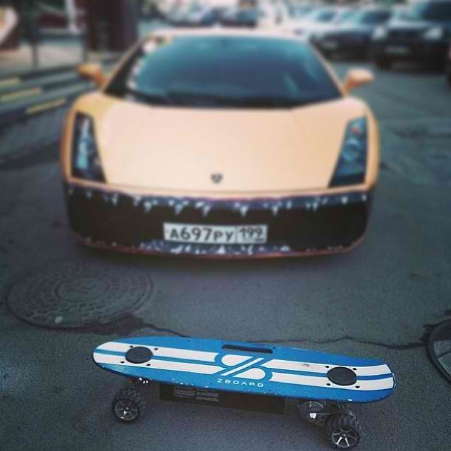 No matter what, always arrive in style.  Regram from @sokobanz in Moscow