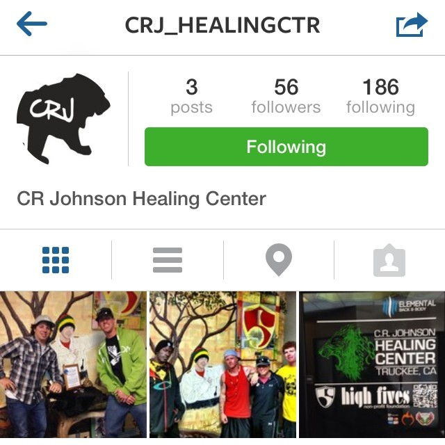 Follow @crj_healingctr for updates from the center inspired from #crjohnson
