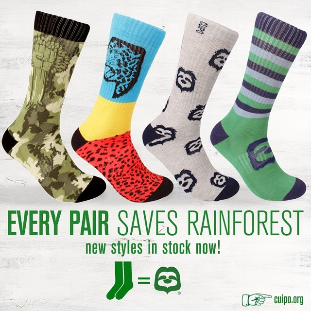 We're standing up against deforestation in style! Grab your pair now to #saverainforest forever. #cuiporoots #instocknow