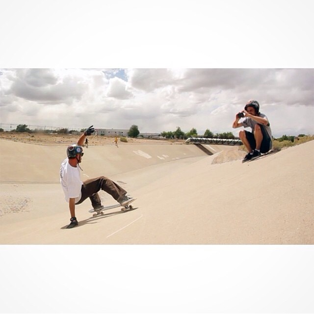 Rad shot from @thebossducky of @radzani laying in back in Bear country! @jahdabo admiring! #calibertrucks
