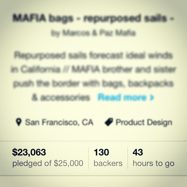 Caught to the #lastminute . @kickstarter ends soon and we are almost there. #bthechange