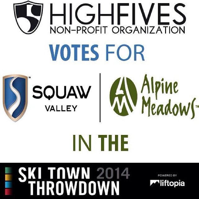Show your ski town pride and vote for @squawvalley | @skialpine in the @powdermagazine Ski Town Throwdown! (PowderMag.com)