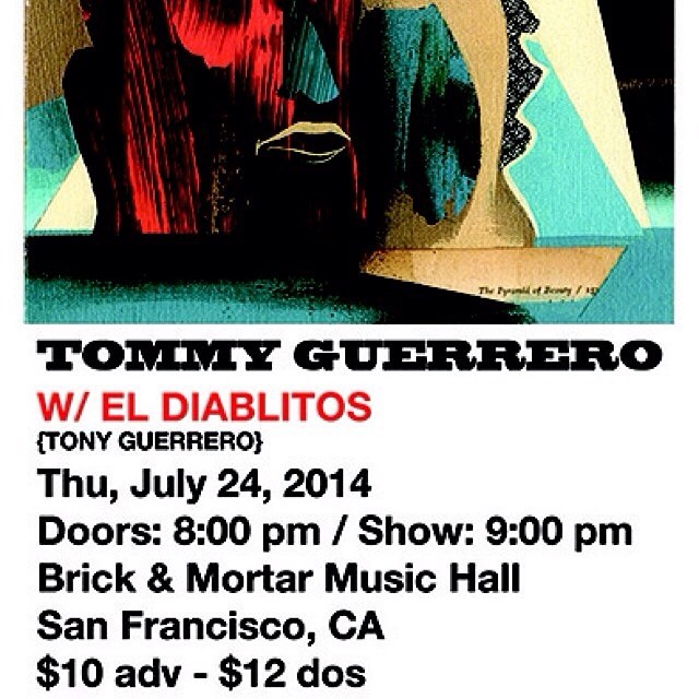 @tommyguerrero tonight at Brick & Mortar in San Francisco!  Bonzing!  #sanfrancisco #tommyguerrero