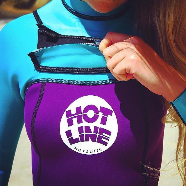 ~Colors~ #HotlineWetsuits #SantaCruz #BootySuit #Babe #Surfing