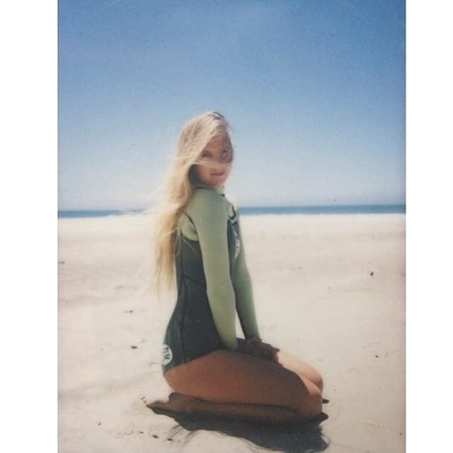 ~Summer Polaroids ~ #BootySuit #HotlineWetsuits #SantaCruz #Babe #CaliforniaSummer