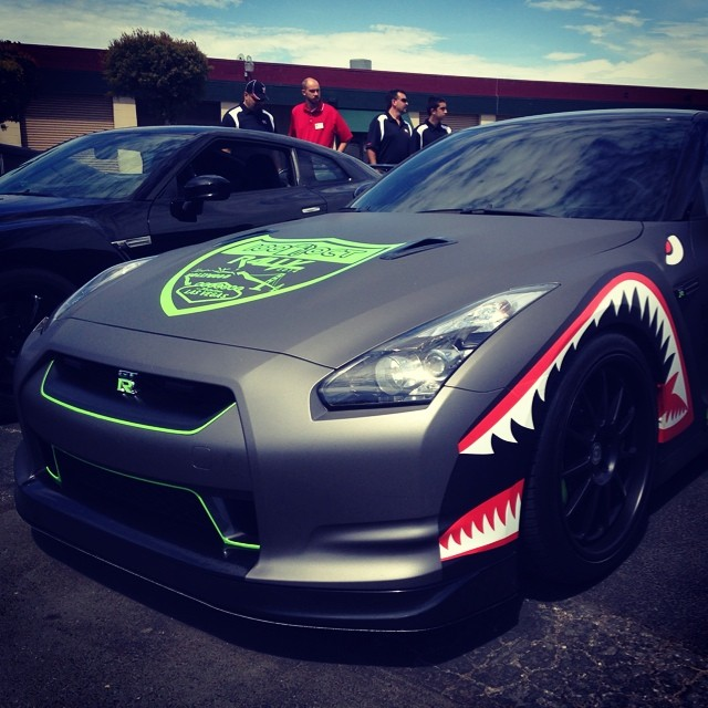 That's a #GTR IF I EVER SAW ONE.... #boombotix