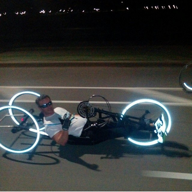 Somebody tag this guy! We need to get him a boombot! #Tron #BikeEdition