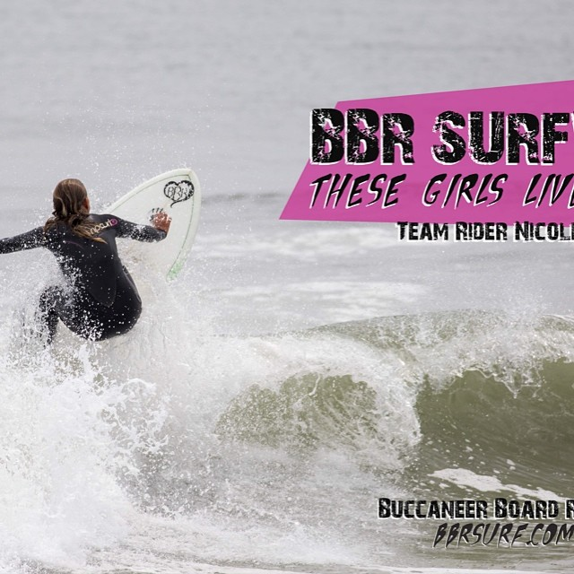 Teamrider, Nicole Pratt's new poster. Get yours this Saturday when she's signing them at Costco New Jersey to promote her Surf With Nicole Surf School #nicolepratt #surfwithnicole #costco #poster #bbr #bbrsurf #buccaneerboardriders #teamrider