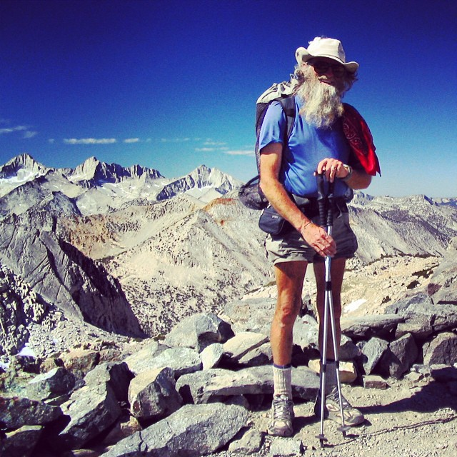 "This is George Woodard, better known by his trail name ""Billy Goat."" Billy Goat has hiked more than 32,000 miles of #radparks, enough to take him around the world and a third of the way again. He has conquered the triple crown of hiking - the..."
