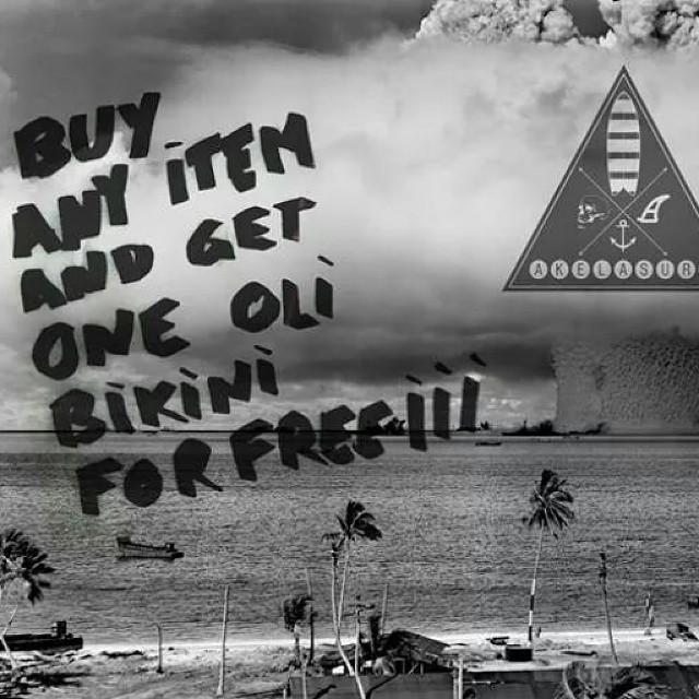 Buy a #AkelaSurf  #SurfSwimwear  and get a Oli Bikini for free!!!