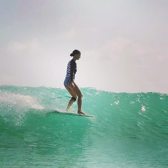 #AkelaSurf  Ambassador Amanda Marie Giberson #SurfSwimwear