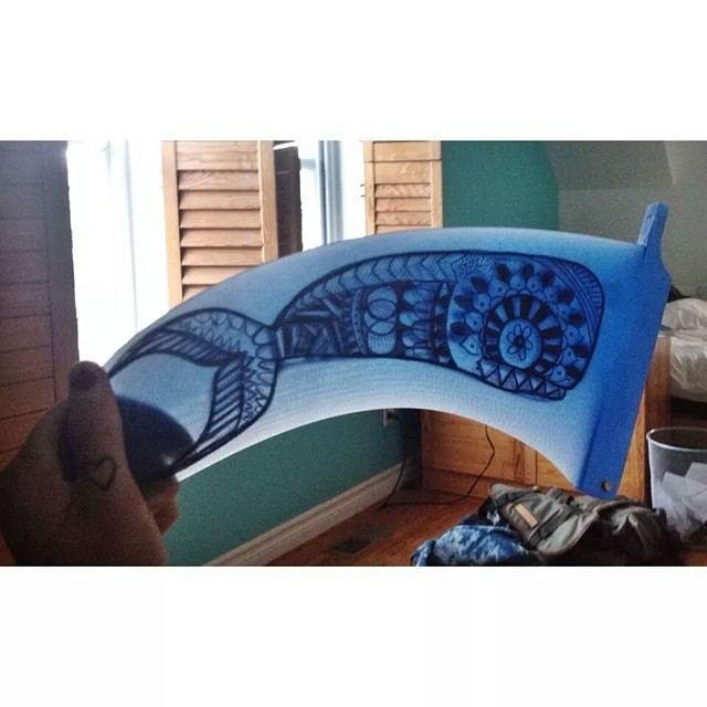 #AkelaSurf  Tropical Fin