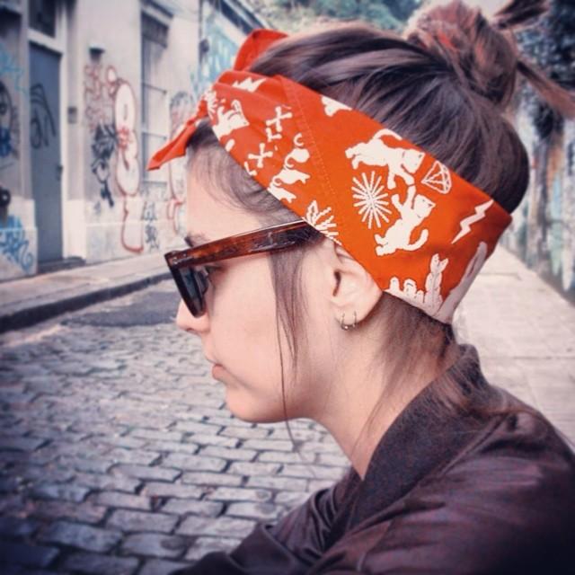 amamos nuestro nuevos #pañuelos ❤️#bandana #scarf #headband
