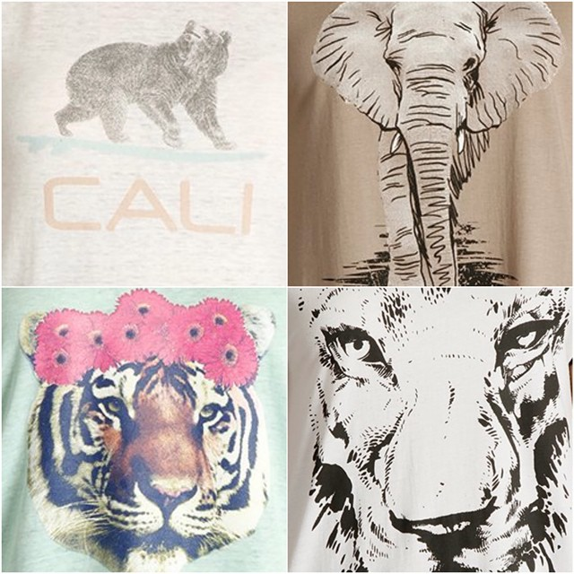 Whatever your #spiritanimal we have a tee for it. Just sayin.