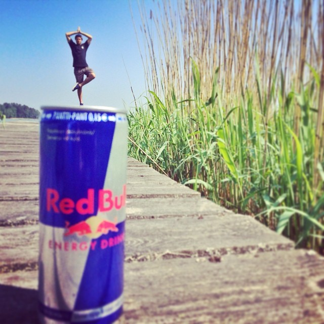 @eeroettla really can balance. #redbull #givesyouwings