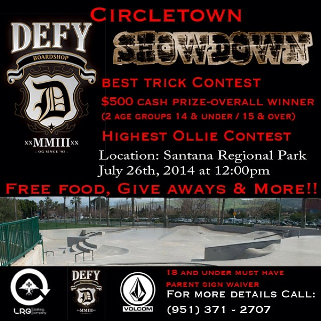 Come on out to @defyboardshop this Saturday...lots of fun in the sun! #ambigclothing #skateboarding #defyboardshop