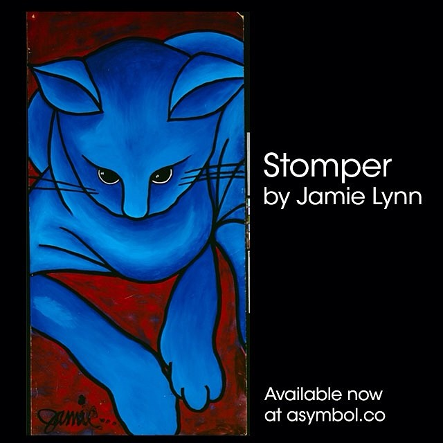 You waited so patiently. Say hello to Stomper! Prints available at asymbol.co. #herekittykittykitty #stomper #jamielynn @@@jamiemlynn @