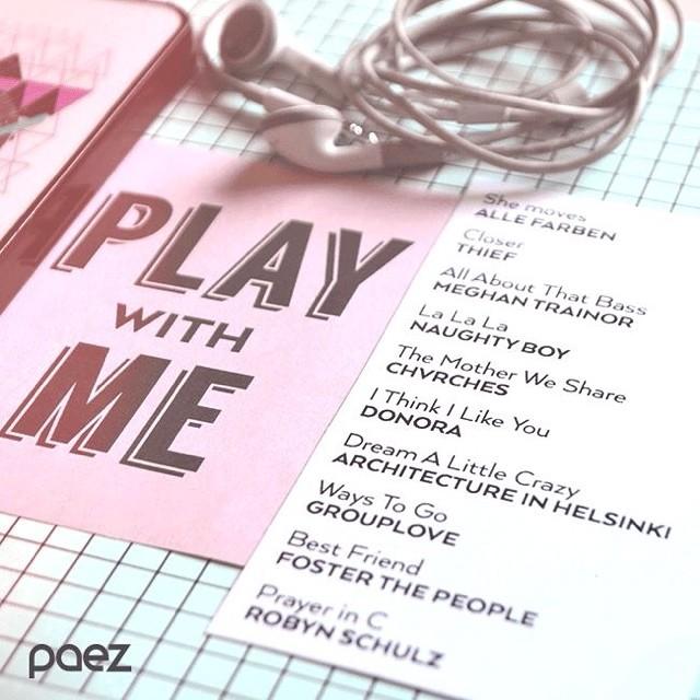 Play some good music, ya llega el fin de semana! http://bit.ly/PaezPlaylistFriday #weekendpaez #paezplaylist