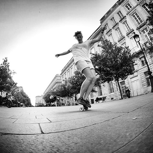 Our lovely LGC French rider @_miaz shot by @julien_leger Enjoy the weekend family! x #longboardgirlscrew #girlswhoshred