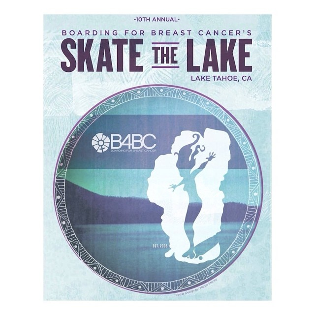 SKATE THE LAKE [TAHOE] // Join us in beautiful #LakeTahoe August 16th for our 10th Annual #SkateTheLake, a 28-mile longboard-a-thon promoting an active lifestyle while raising awareness & funds for B4BC's education & prevention programs!  Get all of...