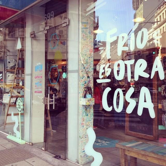 En Buenos Aires al frío lo invitamos a #paezear  #paezstore #frioesotracosa #sunnysaturday