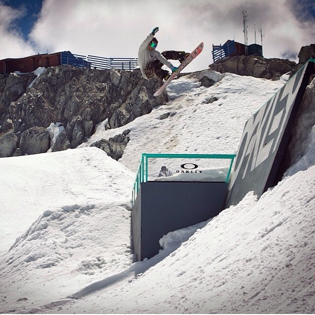 Coach @chrisrasman enjoying some of his summer days at #CampOfChampions @whistlerblackcomb . #SummerShred