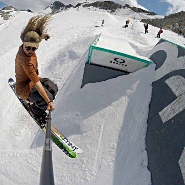 @jarred_martin on top of his summer ski game at @campofchampions on next year's #switchblade #riderowned
