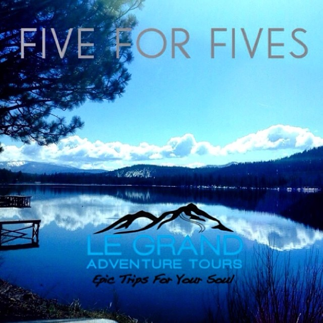 #High5ives to @lgadventuretour for donating 5% from each sale of the Five for Fives Card! Help support #HighFivesAthletes by signing up for an incredible adventure tour today! #FiveForFives