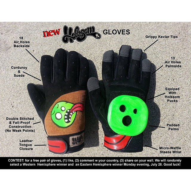 Our gloves are finally here!!!! And we have a contest on our FACEBOOK PAGE, click the LINK ON OUR BIO and follow the instructions for a chance to win a free pair of Holesom Gloves!!! We will randomly select a western hemisphere winner and an eastern...