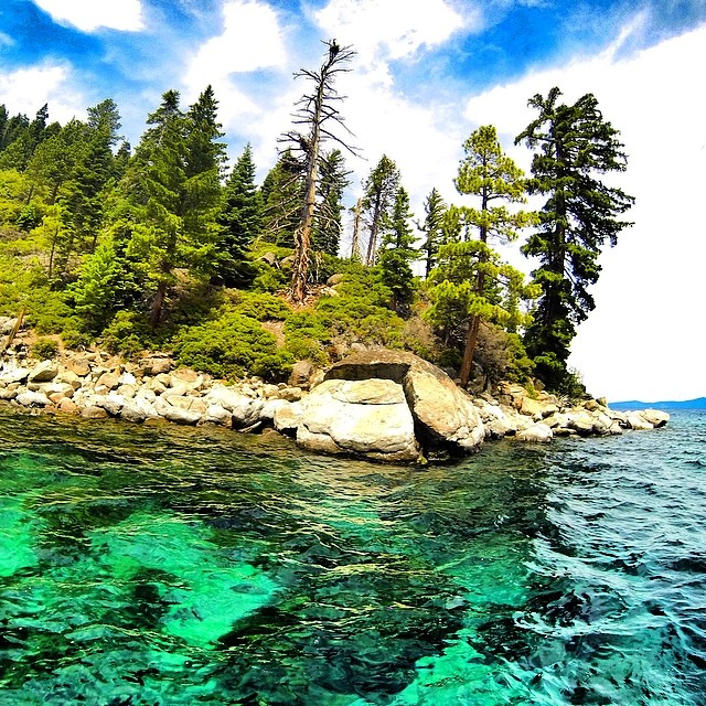 Keep Tahoe blue...