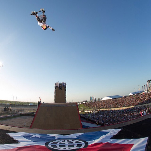 Where are you shredding this weekend? #XGames Photo: @espn_images
