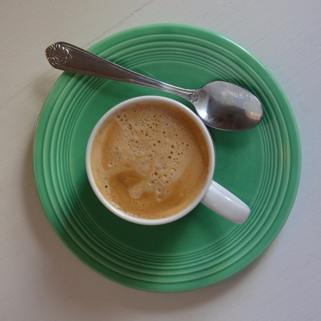 Truly a #lazysunday. ☕️ #sundaystyle #coffee #fiestaware