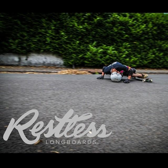 Team rider Damien Moragues performing a helmet slide in France! Pretty amazing eh?
