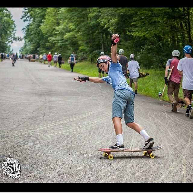 @nolankramerlb going fast at the slide jam and scoring a sick pic by @khaleeqovision #staysteez #keepitholesom