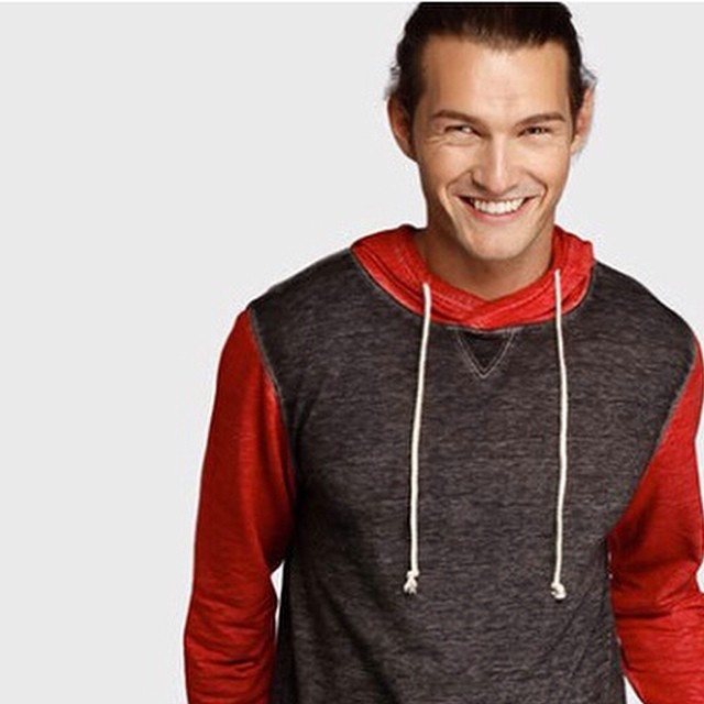 All smiles this tuesday, maybe because of all new #colors in our best men's #hoodies.