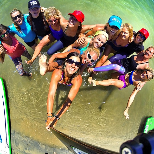 What a weekend! Another group of ladies all certified up under @gilliangibree of @paddlefitness #supyogateachertraining! So stoked to be part of their journey! Cheers to new friends and more selfies!