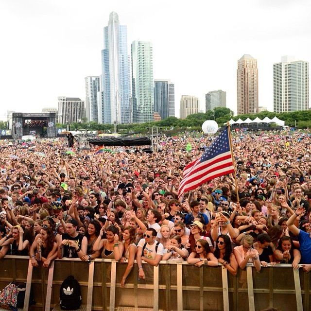 Have @Lollapalooza FOMO? Cure it with #LollaLive. Find out who's playing Friday by tapping the photo. For all set times, click the link in our profile.